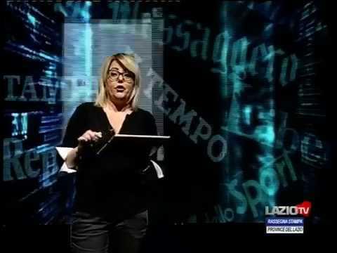 LazioTV   La rassegna stampa delle altre province del Lazio 11 05 19