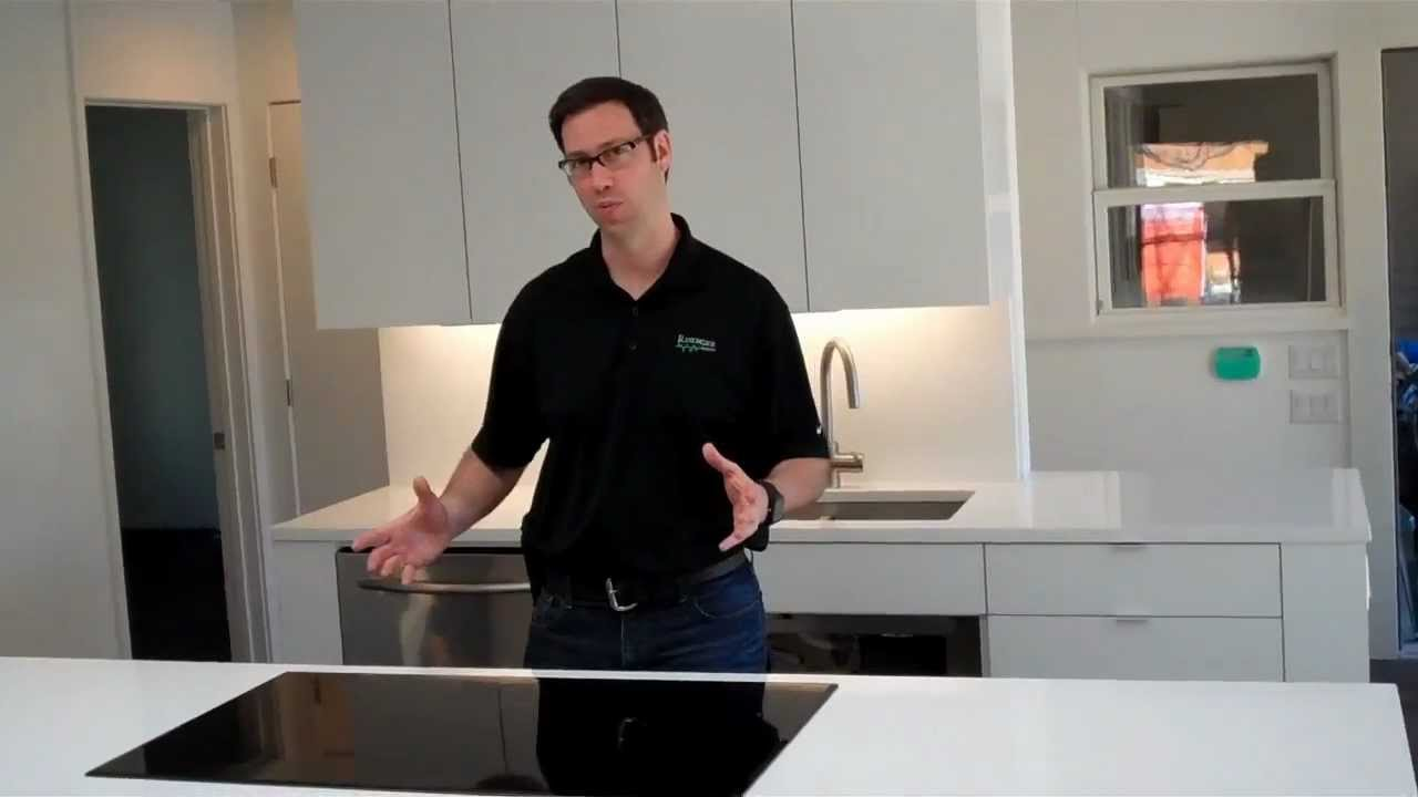 Venting for a Kitchen Aid Induction Cooktop - YouTube