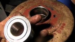 Рено Логан як поміняти задній ступичный підшипник/Renault Logan Rear wheel bearing