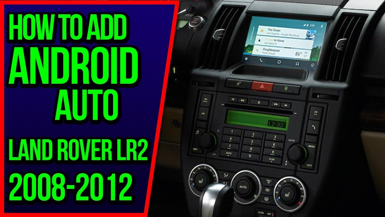 How To Add Apple CarPlay Land Rover LR2 2008-2012 NavTool Video Interface  Android Auto HDMI Mirror
