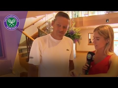Wimbledon 2017 - The walk to Centre Court with Dan Bloxham