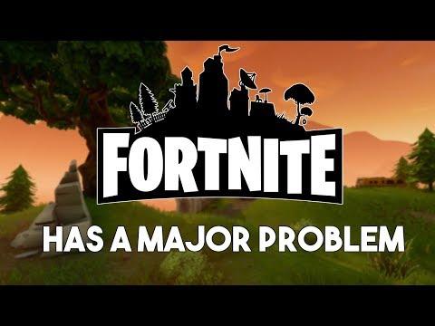 Fortnite Has A Major Problem