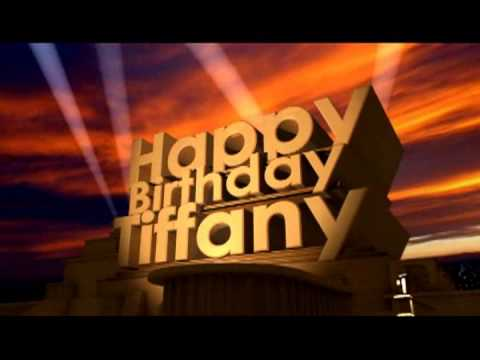 Happy Birthday Tiffany