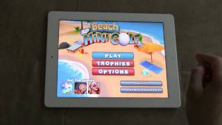 3D Beach Mini Golf - iPad 2 App Review (1080p HD)