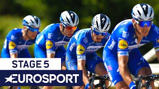 Critérium du Dauphiné 2019 | Stage 5 Highlights | Cycling | Eurosport