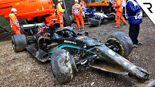 How Russell seriously upset Mercedes in huge Bottas F1 crash