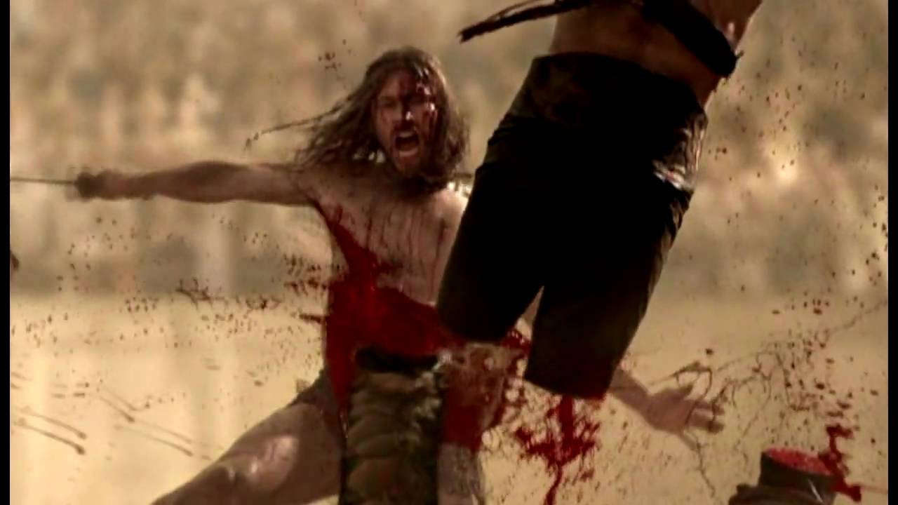 Spartacus Blood and Sand  Let The Bodies Hit The Floor  YouTube