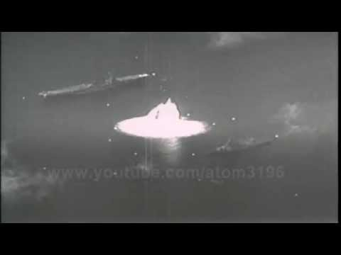 HD ultra High speed camera filmed underwater atomic bomb explosion