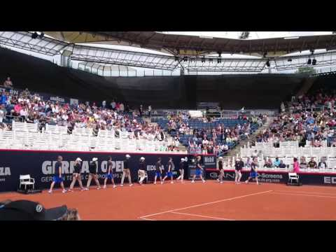 Rothenbaum German Open Hamburg Tennis 🎾 Turnier 2016 Balljungen