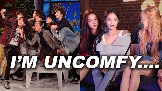 K-pop Moments that make Me Uncomfortable and Angry! (Cringe)