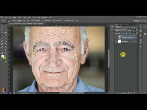Adobe Photo Shop Tutorials: How to Use Spot Healing Brush Tool in Photoshop in Urdu / Hindi 2019 thumbnail