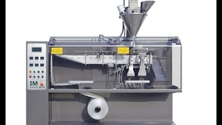 Download Horizontal form fill seal packing machine for powder with double heads Hffs system