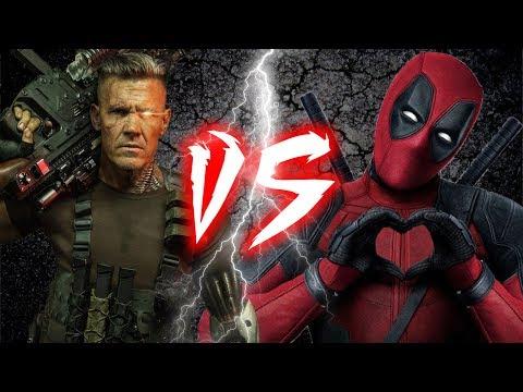 Deadpool vs Cable Rap Battle | Freestyle #staysharp