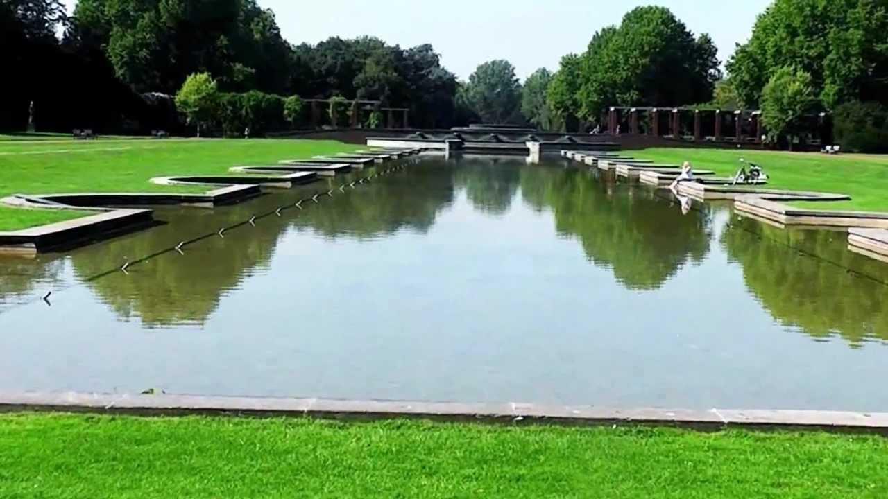 Düsseldorf Nordpark Mit Japanischen Garten Youtube