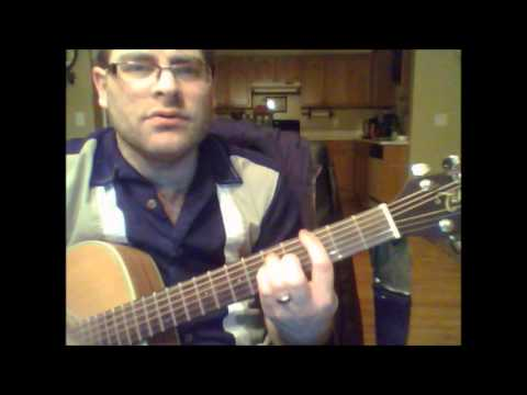 How to play Santa Monica by Everclear on acoustic guitar