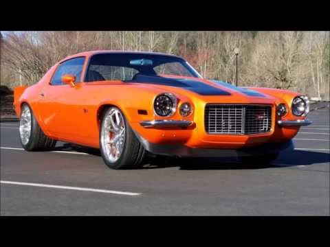 Camaro Z28 1971 Protouring Youtube
