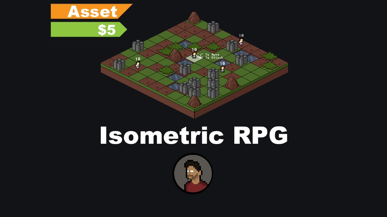 Game Maker Isometric Tactical Rpg Asset Overview Youtube