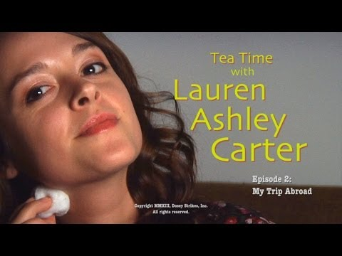 Tea Time with Lauren Ashley Carter -- Episode 2