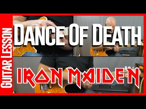 Dance Of Death By Iron Maiden - Guitar Lesson