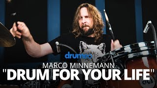 Marco Minnemann - Drum For Your Life (Performance)