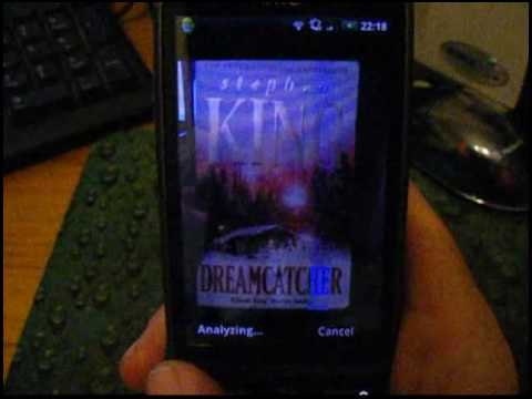 Google Goggles App On The HTC Desire Android Smartphone