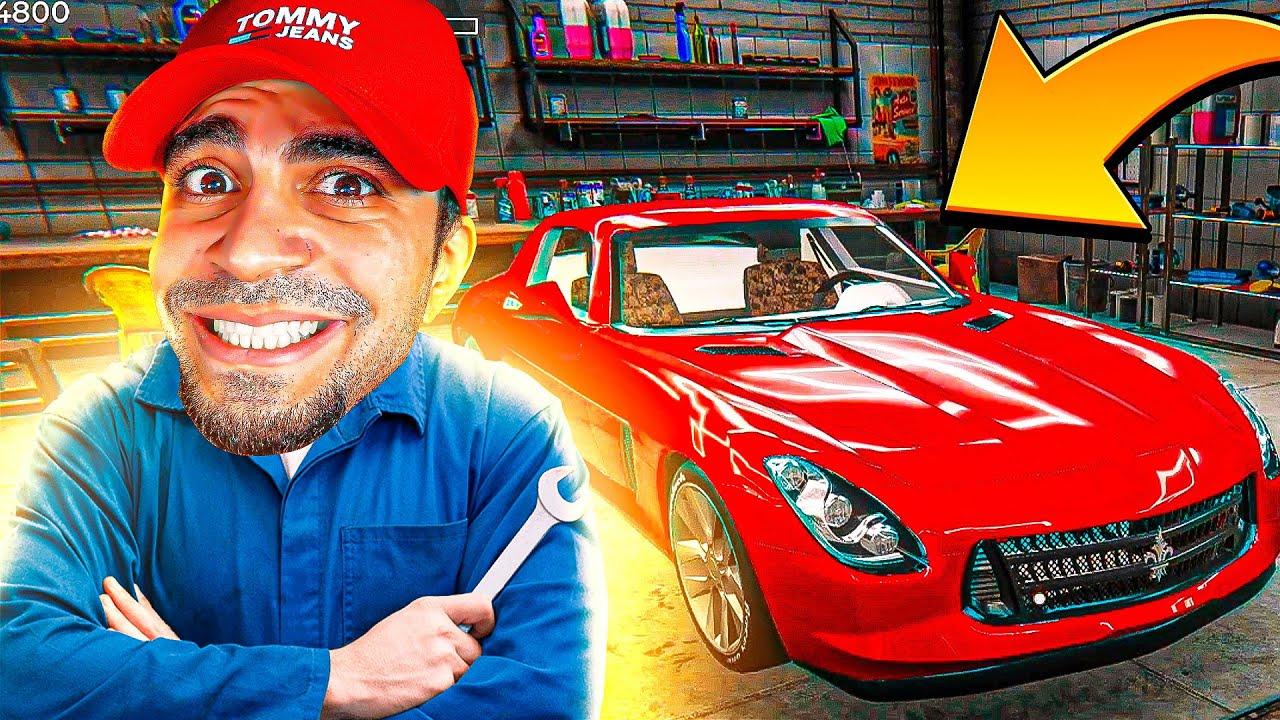 محاكي تنظيف السيارات - Car Detailing Simulator !! 🔧🔥
