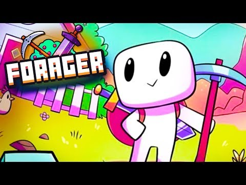 MY NEW FAVORITE GAME! - Forager Ep 1