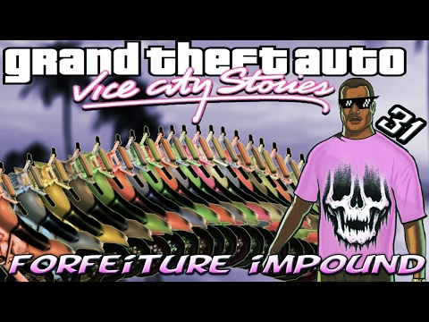 GTA VCS [:31:] ALL Civil Asset Forfeiture Impound Vehicle Locations [100% Walkthrough]
