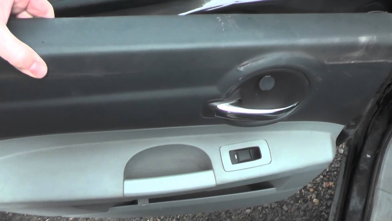 Removing door panel. Dodge Charger - YouTube