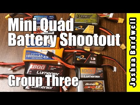 Mini Quad Battery Testing - Group Three
