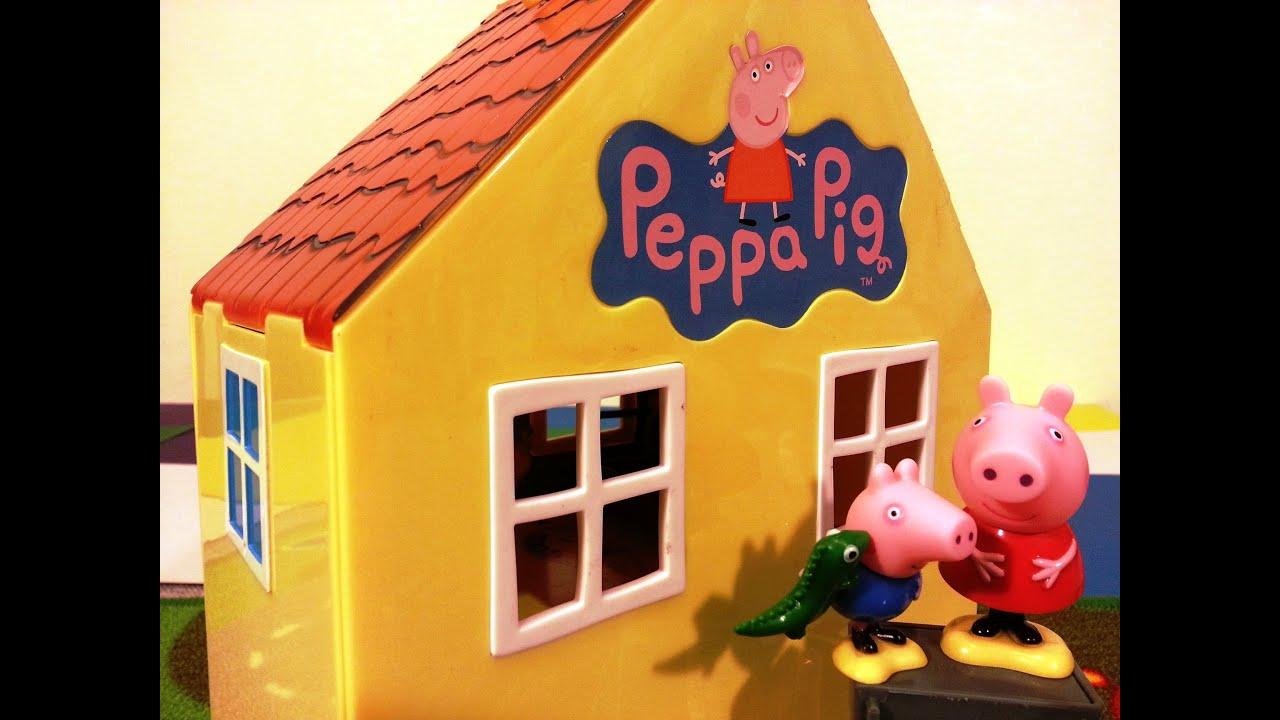 Посмотреть домик свинки пеппа онлайн