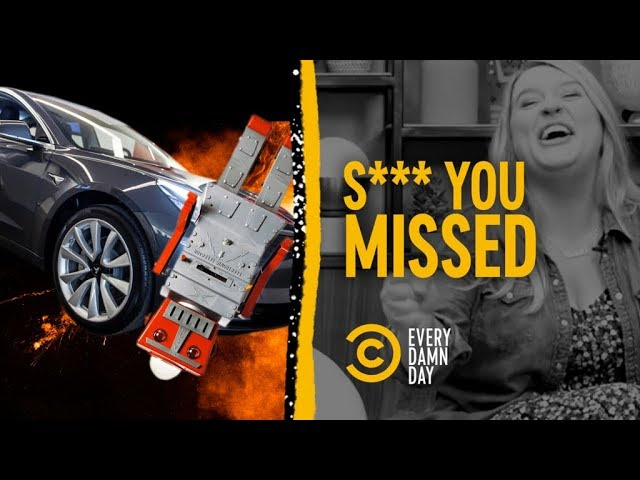 Did a Self-Driving Car Murder a Robot? & Other Vids You May Have Missed (feat. Christi Chiello)