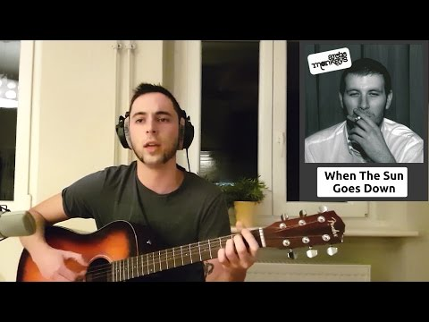 """Arctic Monkeys - """"When The Sun Goes Down"""" (Acoustic Cover)"""