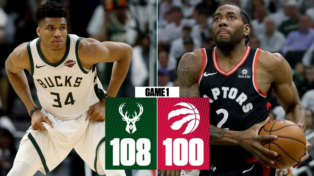 Kawhi & Giannis battle it out, Lopez takes over in Bucks' Game 1 win | 2019 NBA Playoff Highlights