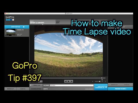 Gopro studio how to make a time lapse video gopro tip for How to use gopro studio templates