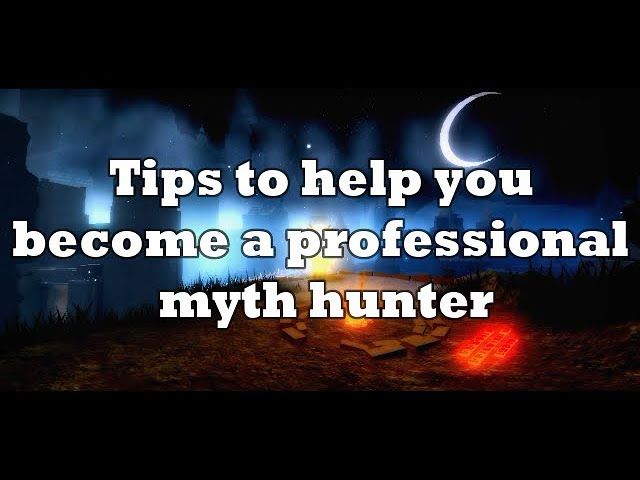 Roblox Myth Hunters Discord Tips To Help You Become A Professional Myth Hunter Youtube