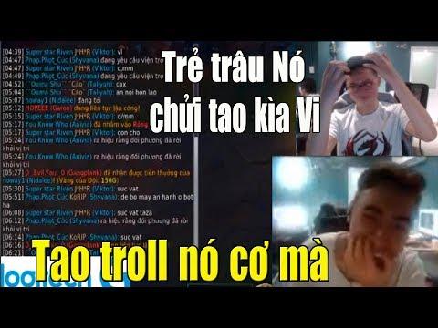Levi max Troll khi gặp đồng đội Sửu nhi Rank Việt chửi Noway chửi cả Team quá láo