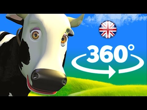 Lola the cow  360°  Songs for Kids, Childrens Music