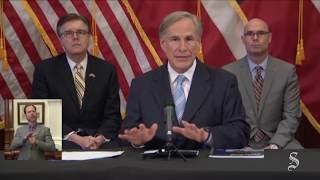Texas gov. eases coronavirus rules: Retail, restaurants, movies to reopen