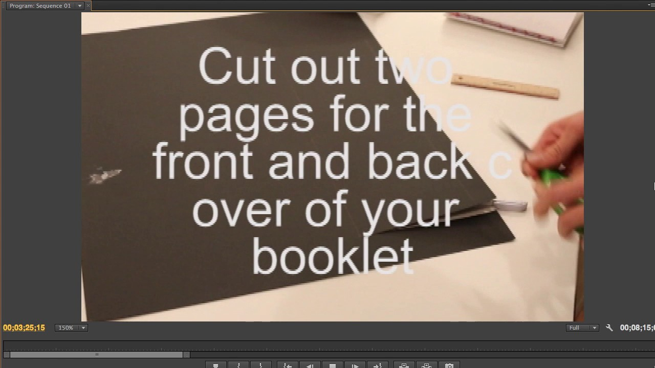 How To Make A Coffee Table Book Binding