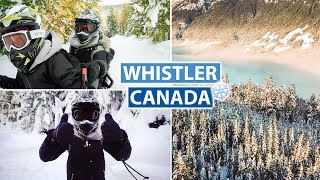 Best Experience in Whistler   Snowmobiling for the First Time