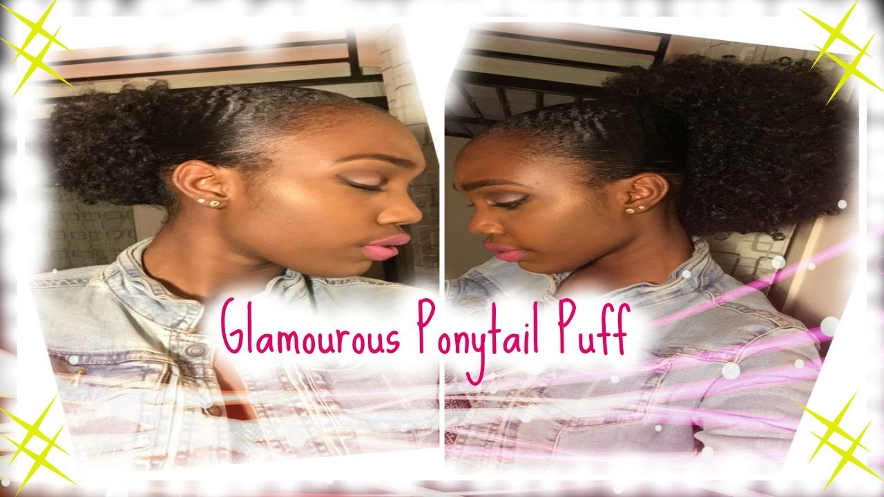 Glamourous Ponytail Puff Caribbean Afro Doll