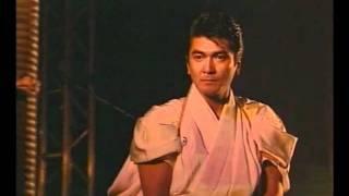 清水宏次朗 - 2003ディナーショー 場所 赤坂プリンスホテル 真剣(演武)