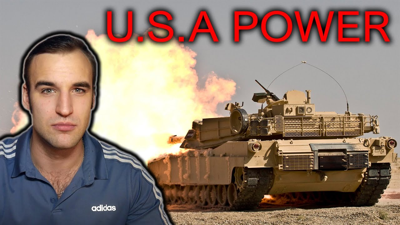 How did U.S.A. become so powerful?