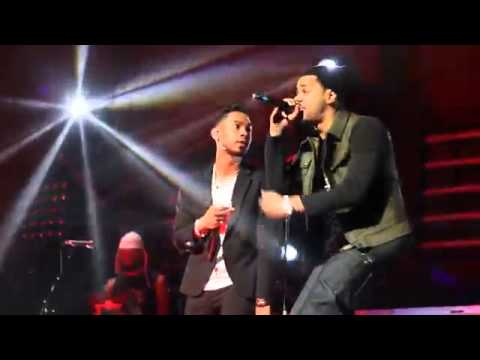 Miguel & J. Cole Perform Power Trip @ Barclays Center in Brooklyn, NY