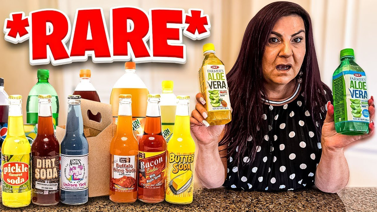 We Tried RARE & EXOTIC Drinks!!