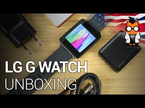 LG G Watch Gets Unboxed (Video)