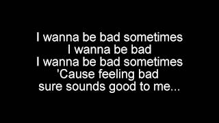 Bad Sometimes, Randall Breneman with lyrics