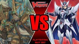 Blaster Exceed Vs Garmore - Cardfight Vanguard Playtesting May 2017