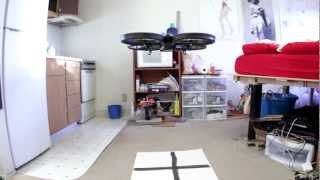 AR Drone optical flow test